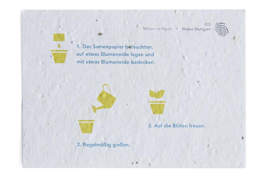 Visitenkarten Aus Samenpapier Bedrucken Leoprinting